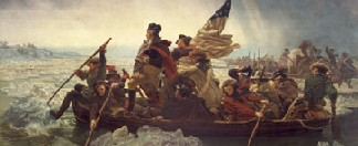 Washington crossing the Delaware - Clickable Image