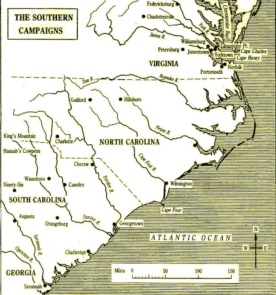Battles Of The American War Of Independence - Battle of saratoga us maps