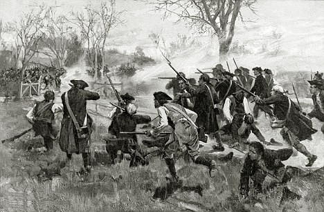 who fired first at lexington and concord persuasive essay
